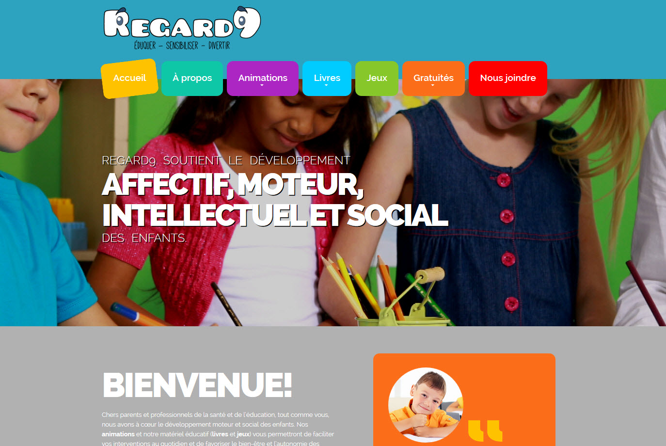 Site Web Regard9